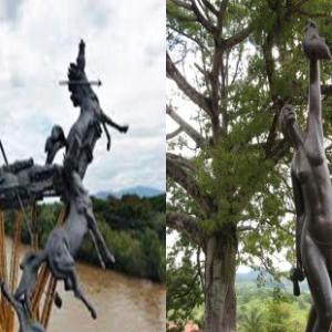 ✅ Recorrido a Neiva la estatua y monumento conmemorativos en honor a la cacica gaitana historia ✨