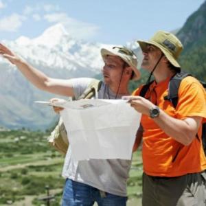 ✅ Tarjeta profesional de guía de turismo gratuita