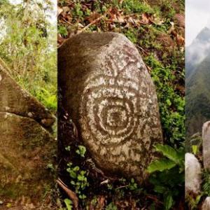 ✅ El Tambillo en Rivera, Huila Petroglifos Colombia cordillera Oriental ✨
